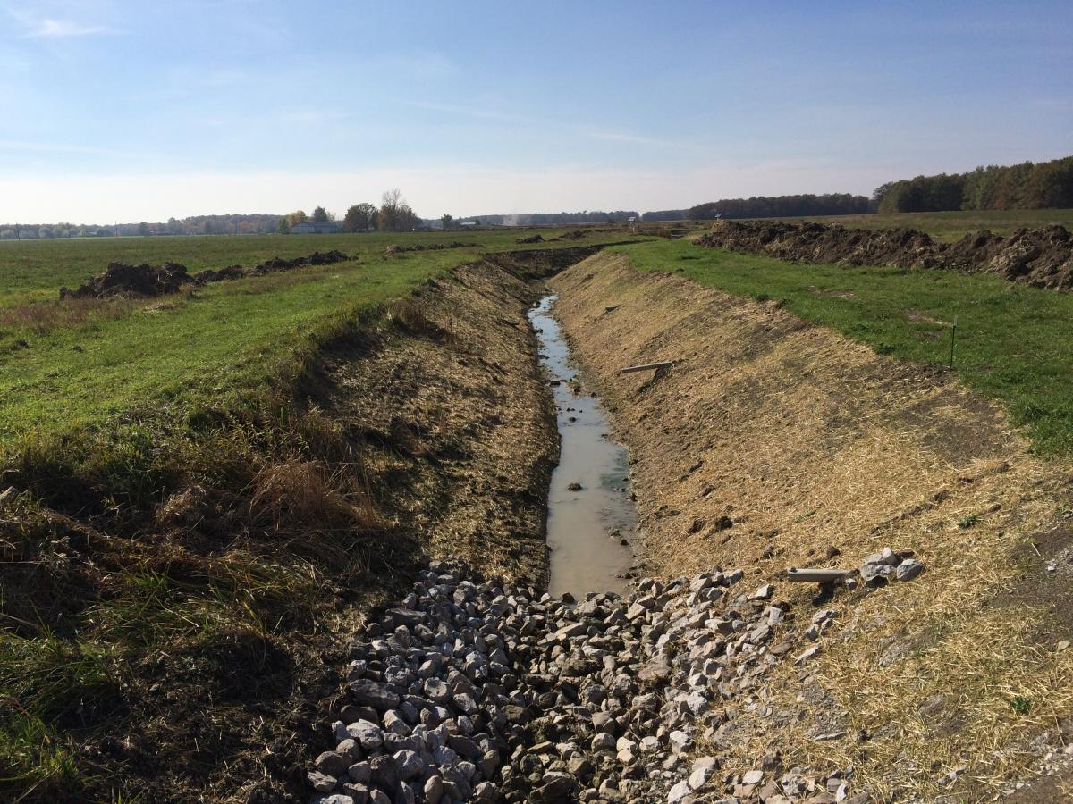 2014 Cleaned Ditch