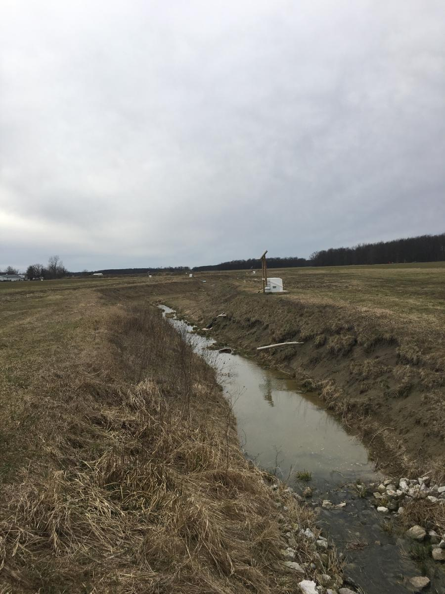2014 cleaned ditch in 2017